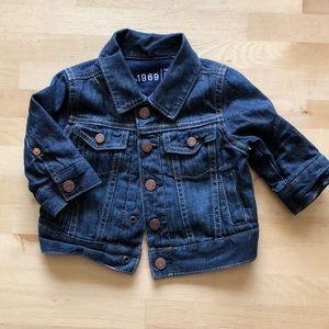 Baby Gap Denim Jacket - Unisex - 0-6 Month